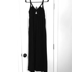 Beautiful Black Summer Maxi Dress